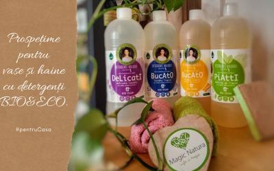Detergenți Bio si Eco? Daaa, Pentru haine și veselă