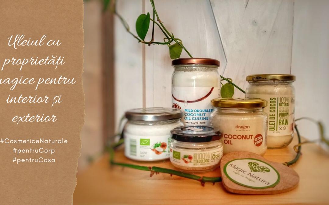 Bucură-te de toate proprietățile magice ale uleiului de cocos!