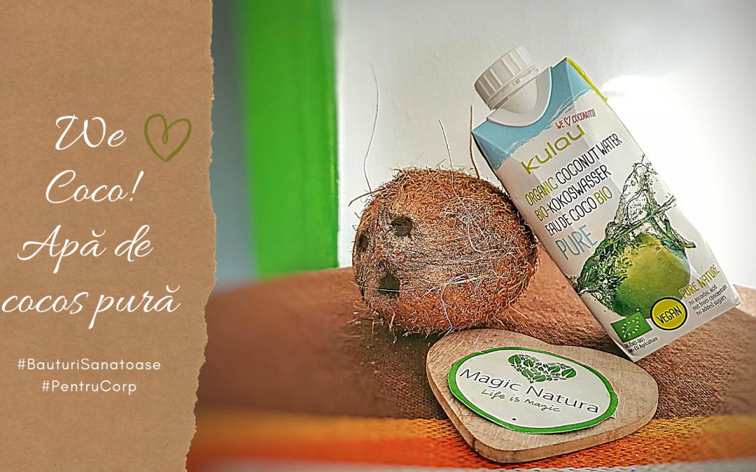 Hidratează-te cu apă de cocos pură!