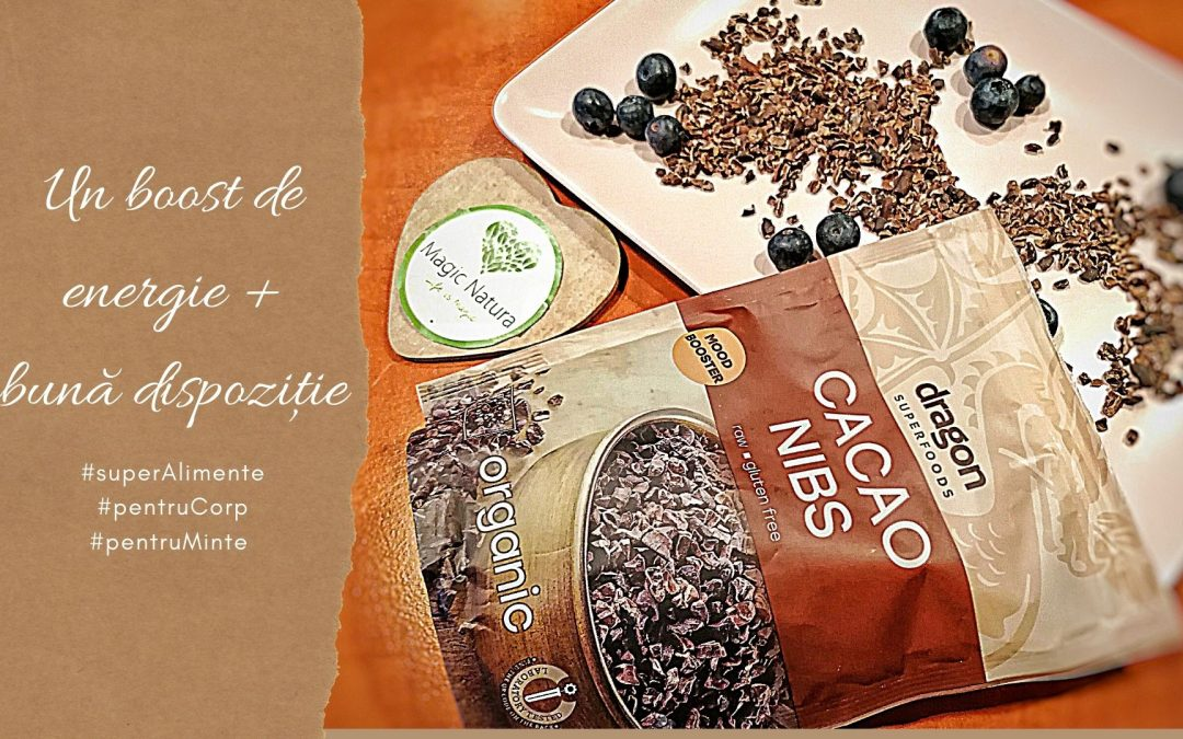 Știi cât de sănătoase sunt boabele de cacao?